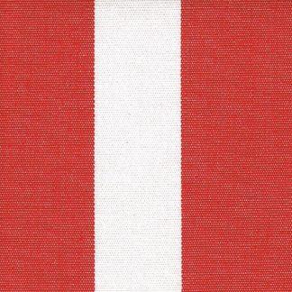 outdoorstoffen.com - Acrisol Listado Rojo 20