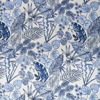 outdoorstoffen.com - Acrisol-Bouquet-Indigo-330